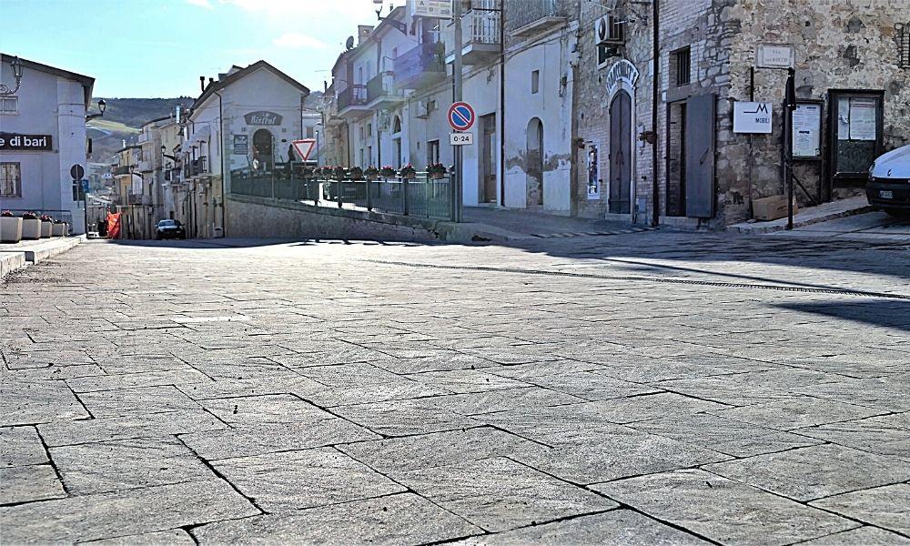 Pavimentazione stradale green