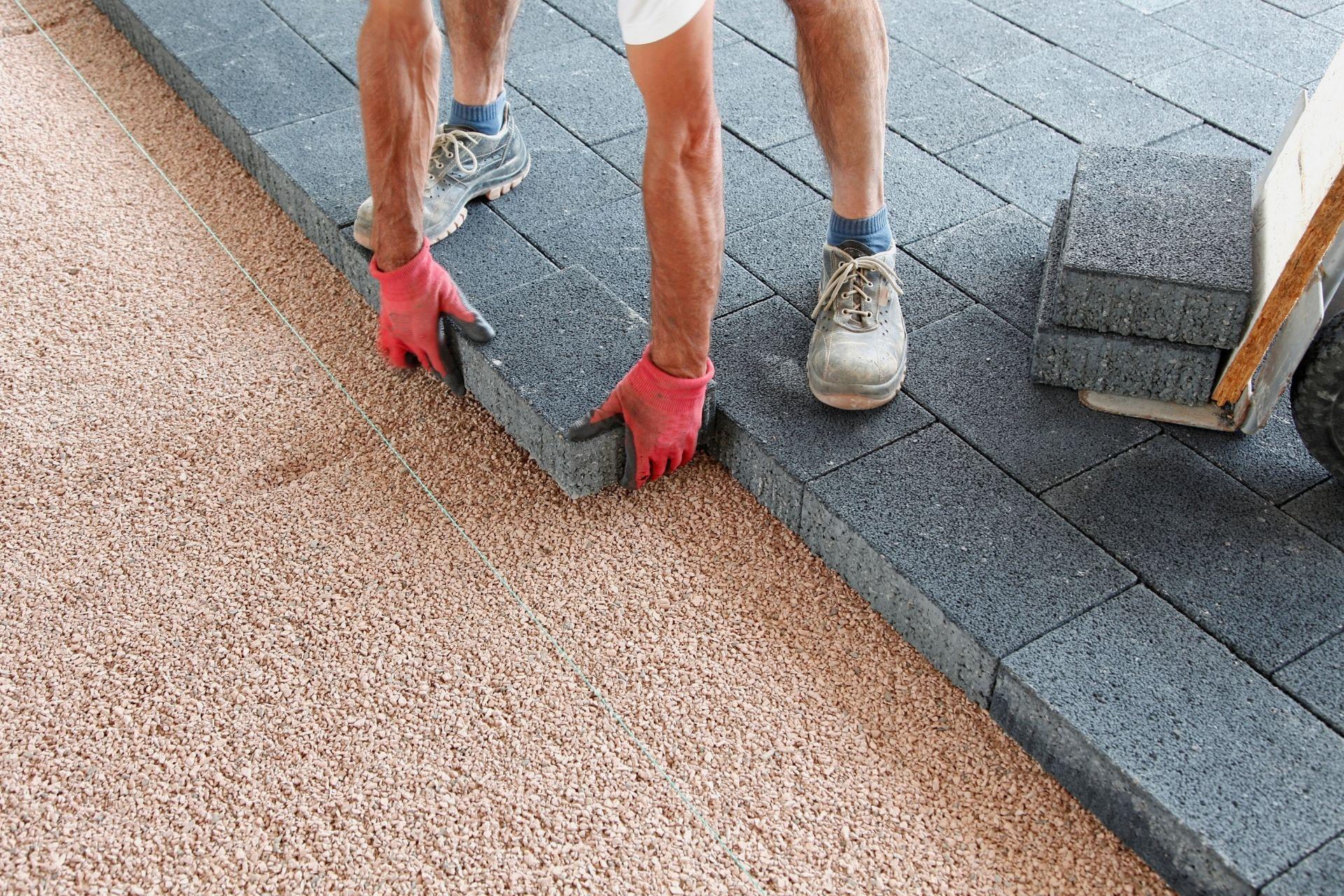posa pavimentazioni per esterno